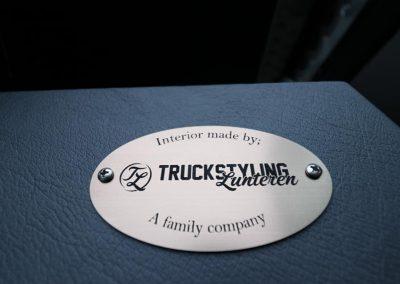 Custom interior truckstyling Lunteren