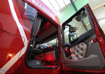 Cutom interior vrachtwagen scania