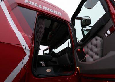 Deur paneel vervangen scania truck