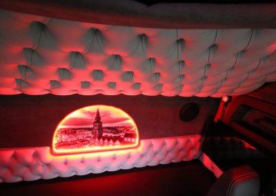 Foto verlicht cabine scania