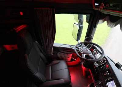 Scania cabine rood verlicht custom interior